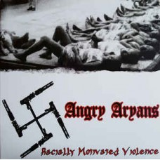 Angry Aryans  ‎– RMV - Blue, Red or Black  Vinyl LPs