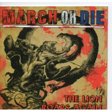 March Or Die - The Lion Roars Again -CD