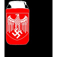 Beer Koozie Red - Iron Eagle