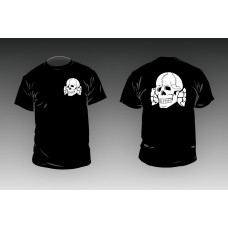 Death Head- Black T-Shirt