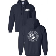 "Bully Boys  ""100% Bully""   Zip-up Hoodie Black"