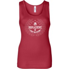"H8MACHINE ""Fight The System"" Girl Tank Red"