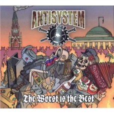 Antisystem ‎- The Worst Is The Best - CD